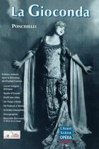 Couverture du livre « L'avant-scène opéra N.232 ; la Gioconda » de Amilcare Ponchielli aux éditions L'avant-scene Opera