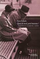 Couverture du livre « Quoi de neuf, petit homme? » de Hans Fallada aux éditions Denoel