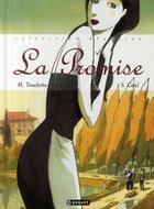 Couverture du livre « La promise » de Tonelotto Myriam / G aux éditions Paquet