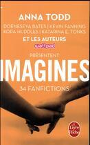 Couverture du livre « Imagines ; 34 fanfictions » de Anna Todd aux éditions Lgf