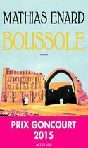 Couverture du livre « Boussole » de Mathias Enard aux éditions Actes Sud