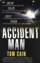 Couverture du livre « Accident man » de Tom Cain aux éditions Nimrod