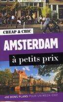 Couverture du livre « Amsterdam à petits prix » de Rodolphe Bacquet aux éditions En Voyage