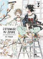 Couverture du livre « L'etranger du zephyr t.3 » de Kanna Kii aux éditions Boy's Love