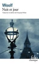 Couverture du livre « Nuit et jour » de Virginia Woolf aux éditions Gallimard