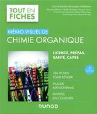 Couverture du livre « Mémo visuel de chimie organique (3e édition) » de Collectif et Jacques Maddaluno aux éditions Dunod