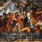 Couverture du livre « Triumph and taste - rubens at the ringling museum of art » de Brilliant Virginia aux éditions Scala Gb