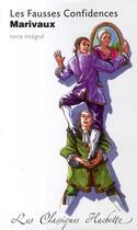 Couverture du livre « Les fausses confidences » de M Bouty et Pierre De Marivaux aux éditions Hachette Education