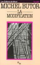 Couverture du livre « La modification » de Michel Butor aux éditions Minuit