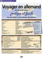 Couverture du livre « Voyager en allemand » de Collectif aux éditions Aedis