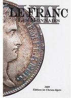 Couverture du livre « Le franc VIII, les monnaies (édition 2009) » de Prieur Michel aux éditions Chevau-legers