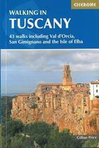 Couverture du livre « Walking in tuscany » de Gillian Price aux éditions Cicerone Press