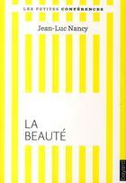 Couverture du livre « La beauté » de Nancy-Jl aux éditions Bayard