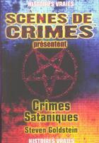 Couverture du livre « Crimes Sataniques N13 » de Goldstein S aux éditions Scenes De Crime