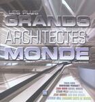 Couverture du livre « Les plus grands architectes du monde » de May Cambert aux éditions Vilo