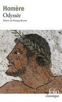 Couverture du livre « Odyssée » de Homere aux éditions Gallimard
