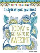 Couverture du livre « Inspirations couleurs » de Valentina Harper aux éditions De Saxe