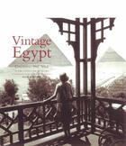 Couverture du livre « Vintage Egypt » de Alain Blottiere aux éditions Flammarion