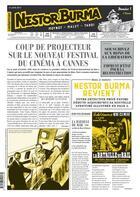Couverture du livre « Journal de Nestor Burma ; l'homme au sang bleu N.1 » de Emmanuel Moynot et Leo Malet et Jacques Tardi aux éditions Casterman
