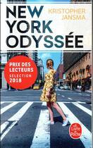 Couverture du livre « New York odyssée » de Kristopher Jansma aux éditions Lgf