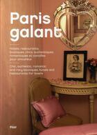 Couverture du livre « Paris galant » de Jonathan Siksou aux éditions Fizzi