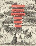 Couverture du livre « Chroniques de strasbourg » de Guy Trendel aux éditions La Nuee Bleue
