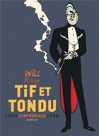 Couverture du livre « Tif et Tondu ; INTEGRALE VOL.2 ; 1955-1958 » de Blutch et Robber aux éditions Dupuis