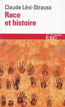 Couverture du livre « Race et histoire » de Claude Levi-Strauss aux éditions Gallimard