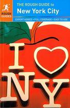 Couverture du livre « NEW YORK CITY » de M.Dunford aux éditions Penguin Guide