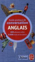 Couverture du livre « Guide pratique de conversation ; anglais » de Pierre Ravier et Werner Reutner aux éditions Lgf