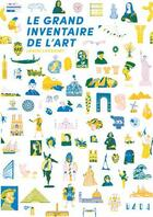 Couverture du livre « Le grand inventaire de l'art » de Louise Lockhart aux éditions Arola