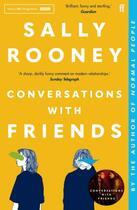 Couverture du livre « Conversations with friends » de Sally Rooney aux éditions Faber Et Faber