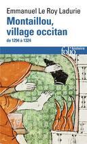 Couverture du livre « Montaillou, village occitan de 1294 à 1324 » de Emma Le Roy Ladurie aux éditions Gallimard