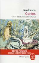 Couverture du livre « Contes » de Hans Christian Andersen aux éditions Lgf