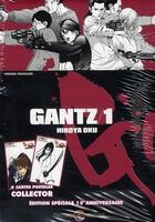 Couverture du livre « Gantz T.1 » de Hiroya Oku aux éditions Tonkam