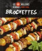 Couverture du livre « Brochettes » de Vanessa Paradis aux éditions Cardinal Editions