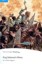 Couverture du livre « King Salomon's mines » de Henry Rider Haggard aux éditions Pearson