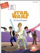 Couverture du livre « Mes premières lectures Hachette ; Star Wars - épisode IV ; un nouvel espoir » de Agnes Berger aux éditions Hachette Enfants