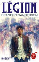 Couverture du livre « Légion » de Brandon Sanderson aux éditions Lgf