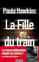 Couverture du livre « La fille du train » de Paula Hawkins aux éditions Sonatine