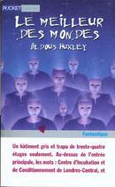Couverture du livre « Le meilleur des mondes » de Aldous Huxley aux éditions Pocket Jeunesse