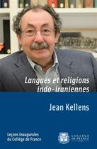 Couverture du livre « Lecon inaugurale 126 par jean kellens » de Jean Kellens aux éditions College De France