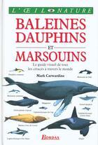 Couverture du livre « Baleines, Dauphins Et Marsouins » de Dorling aux éditions Bordas