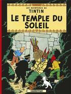 Couverture du livre « Les aventures de Tintin T.14 ; le temple du soleil » de Herge aux éditions Casterman