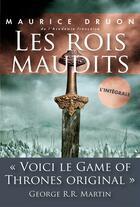 Couverture du livre « Les rois maudits ; intégrale » de Maurice Druon aux éditions Plon