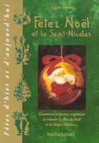 Couverture du livre « Fetez noel et st nicolas » de Behar A aux éditions Bornemann