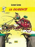 Couverture du livre « Lucky Luke T.32 ; la diligence » de Rene Goscinny et Morris aux éditions Lucky Comics