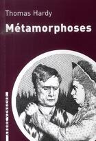 Couverture du livre « Métamorphose » de Hardy/Thomas aux éditions L'arbre Vengeur