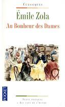 Couverture du livre « Au bonheur des dames » de Émile Zola aux éditions Pocket