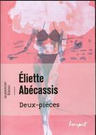 Couverture du livre « Le 1er bikini ; deux pièces » de Eliette Abecassis aux éditions Steinkis